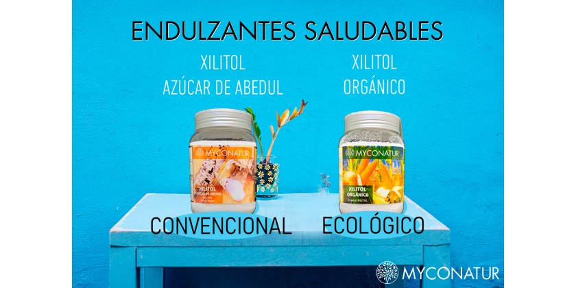 XILITOL, UN ENDULZANTE NATURAL SALUDABLE